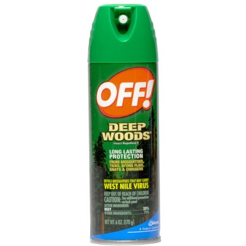 Off Deep Woods Insect Repellent, 6 Ounce,  (Pack of 2)
