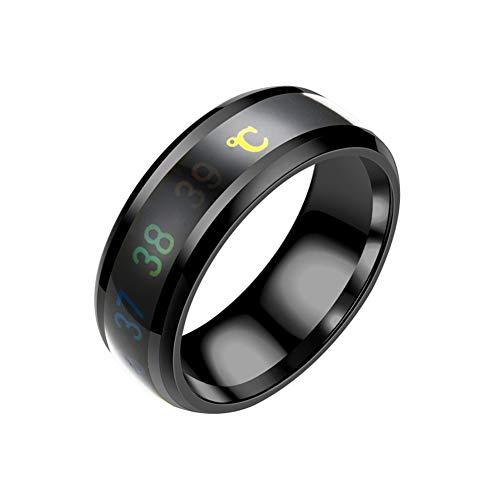 MOLEK Ring Herren/Damen Wolframcarbid Außenbreite 8mm bequem, Men Fashion Schmuck Ehering Verlobungsring Freundschaftsring Lifestyle-Ring, Größe 47 bis 80