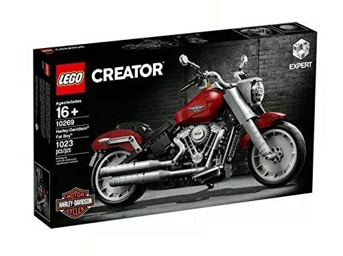 Harley Davidson Fatboy 10269 Creator Expert aus 1023 Teilen
