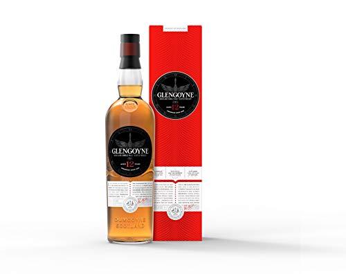 Glengoyne 12 Jahre Single Malt Scotch Whisky mit Geschenkverpackung (1 x 0,7 l)
