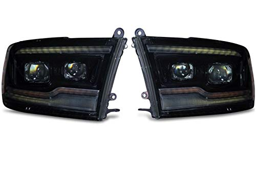 Morimoto XB Plug & Play LED Headlight Assembly Compatible with 2009-2018 Dodge Ram 1500 2500 3500