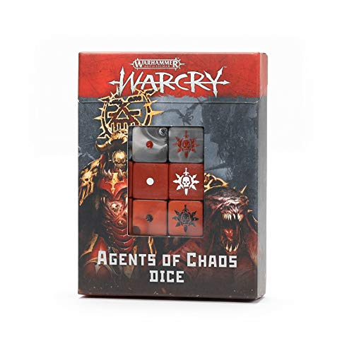 Games Workshop Warcry Agents of Chaos Dice