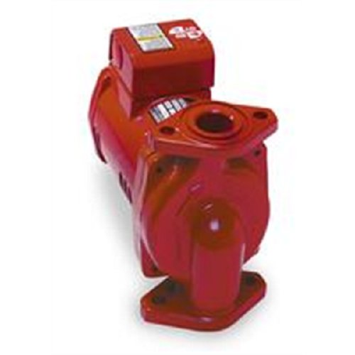 Bell & Gossett PL-36 Series Pl Maintenance-Free Circulator, Flange Connection, 1/6 hp, 115V, Cast Iron
