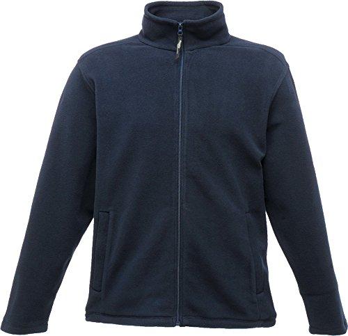 Regatta Micro Full Zip Fleece Black 2XL