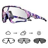 kapvoe fotocromatici occhiali da ciclismo con tr90 occhiali da sole sportivi donne uomini che corrono chiaro mtb bicicletta accessori 38