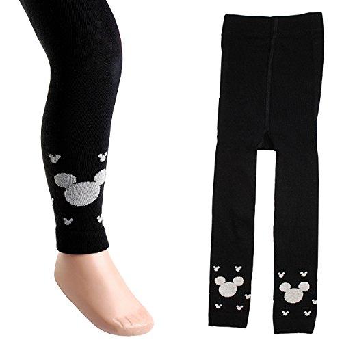 alles-meine.de GmbH Strick Leggings -  Disney Mickey Mouse  - Größe 2 bis 3 Jahre - Gr. 98 / 104 __ 80 % Baumwolle - warme Winter & Sommer...