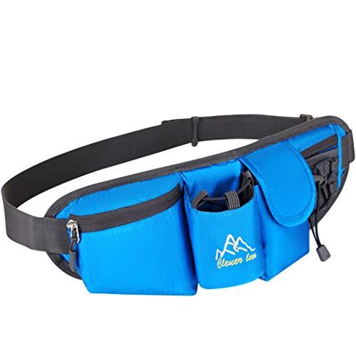 Yowablo Mini Schulter Multifunktions-Handytasche Outdoor-Sporttasche Brusttasche (1Stck,Blau)