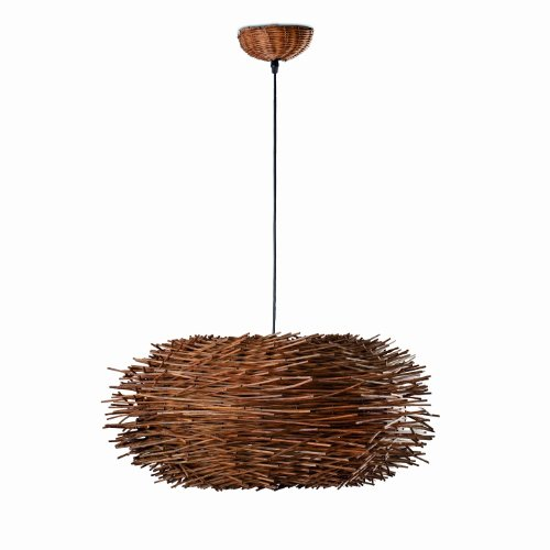 FARO BARCELONA - NIDO Suspension- Metal Marron/Rottin