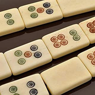 mahjong tile beads