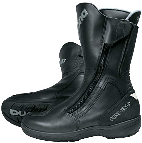 Daytona Boots Motorradschuhe, Motorradstiefel lang Road Star Gore-TEX Stiefel schwarz 51, Unisex, Tourer, Ganzjährig, Leder