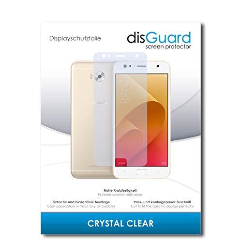 disGuard Panzerglas-Folie für Asus Zenfone 4 Selfie ZD553KL [2 Stück] Bildschirmschutz-Folie, extrem Kratzfest, Kristall-Kar, HD-Clear, Ultra-transparent