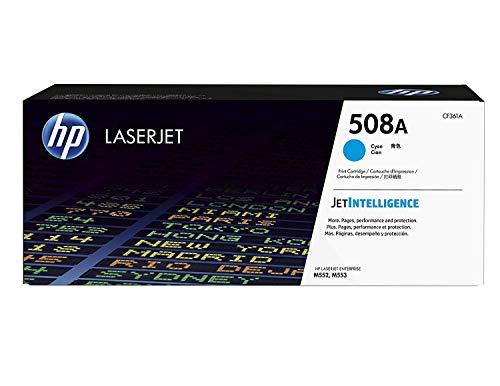 HP 508A (CF361A) Blau/Cyan Original Toner für HP Color Laserjet Enterprise M552dn, M553, M577