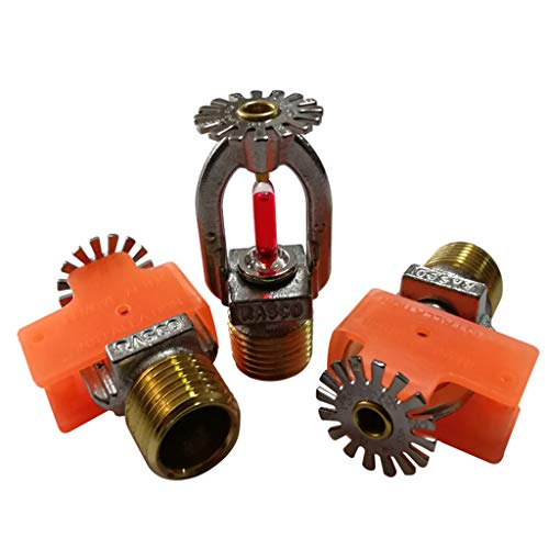 155°F (68°C) K=5.6 K80 Standard Response for Automatic Fire Sprinkler System Chrome Fire Extinguisher Head Pendent Spray