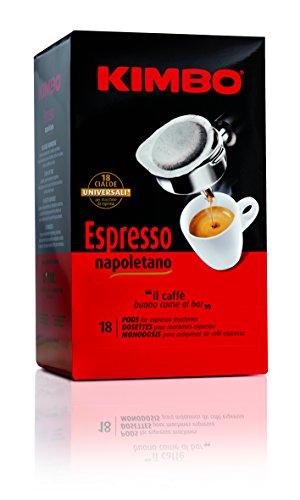 Cápsulas de café Kimbo Espresso Napoletano para cafetera Mokona Tazzona