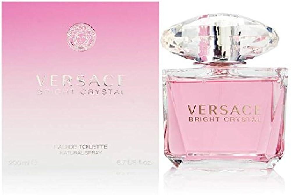 Versace bright crystal, eau de toilette,profumo per donna, 200 ml VER510036