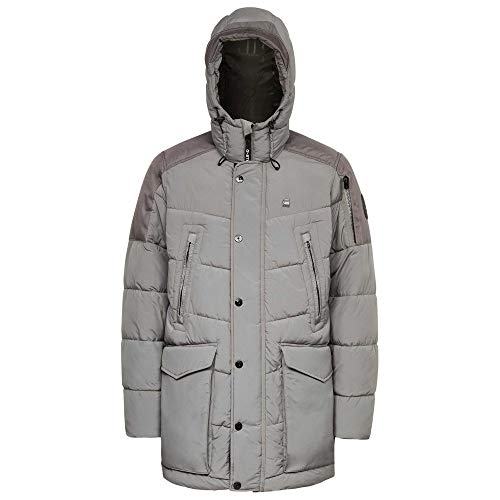 G-STAR RAW Mens Whistler HDD Parka, lt Building B958-8166, Small