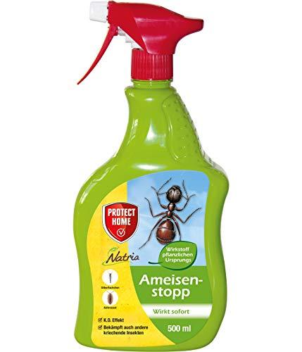 PROTECT HOME Natria Ameisenstopp anwendungsfertiges Ameisenmittel, braun