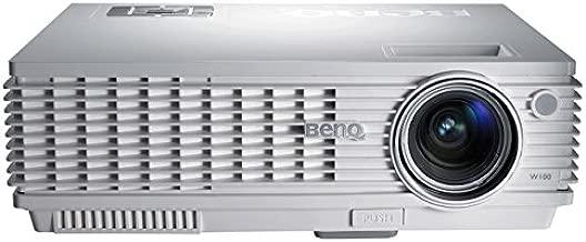 Benq W100 - Proyector Digital WVGA, 1300 Lúmenes del ANSI: Amazon ...