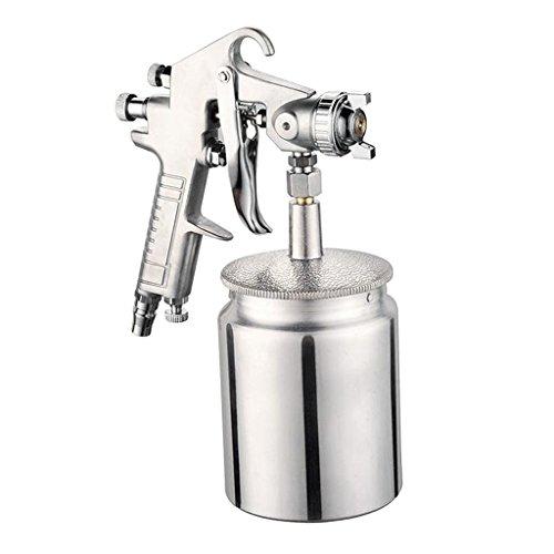 Amuzocity W-77 Kit de Pulverizadora para Compresor de Aire con Alimentación Por Gravedad, Pintura para Automóviles