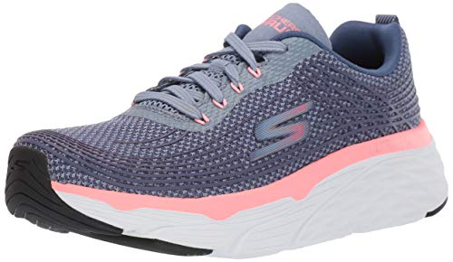 Skechers Women's MAX Cushioning Elite Sneaker, Purple/Pink, 9 Medium US