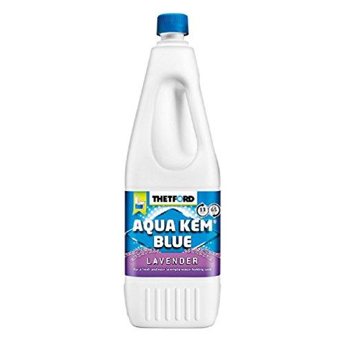 Preisvergleich Produktbild Thetford Aqua Kem blau Lavendel Toilettenflüssigkeit 2 Liter für Wohnmobil,  Wohnwagen und Boot