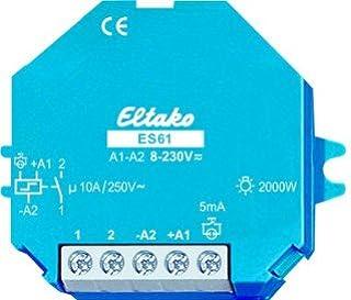 Eltako 2000559 Stromstoss Schalter, ES61 UC, Blau, Weiß