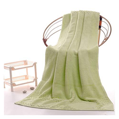 Seupeak 2 UNIDS Lujo Toallas de baño de algodón Egipcio de Lujo para Adultos, 90 * 180 cm 900g Toallas de baño de Sauna Extra Grandes, Toallas de baño de baños Grandes (Color : Green)