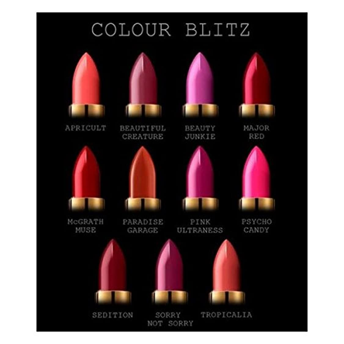 ズームインするめまい被害者PAT McGRATH COLOUR BLITZ (BRIGHTS)LUXETRANCE LIPSTICK パットマグラス 全11カラーの中からお選びください Beauty Junkie (Pink Violet)