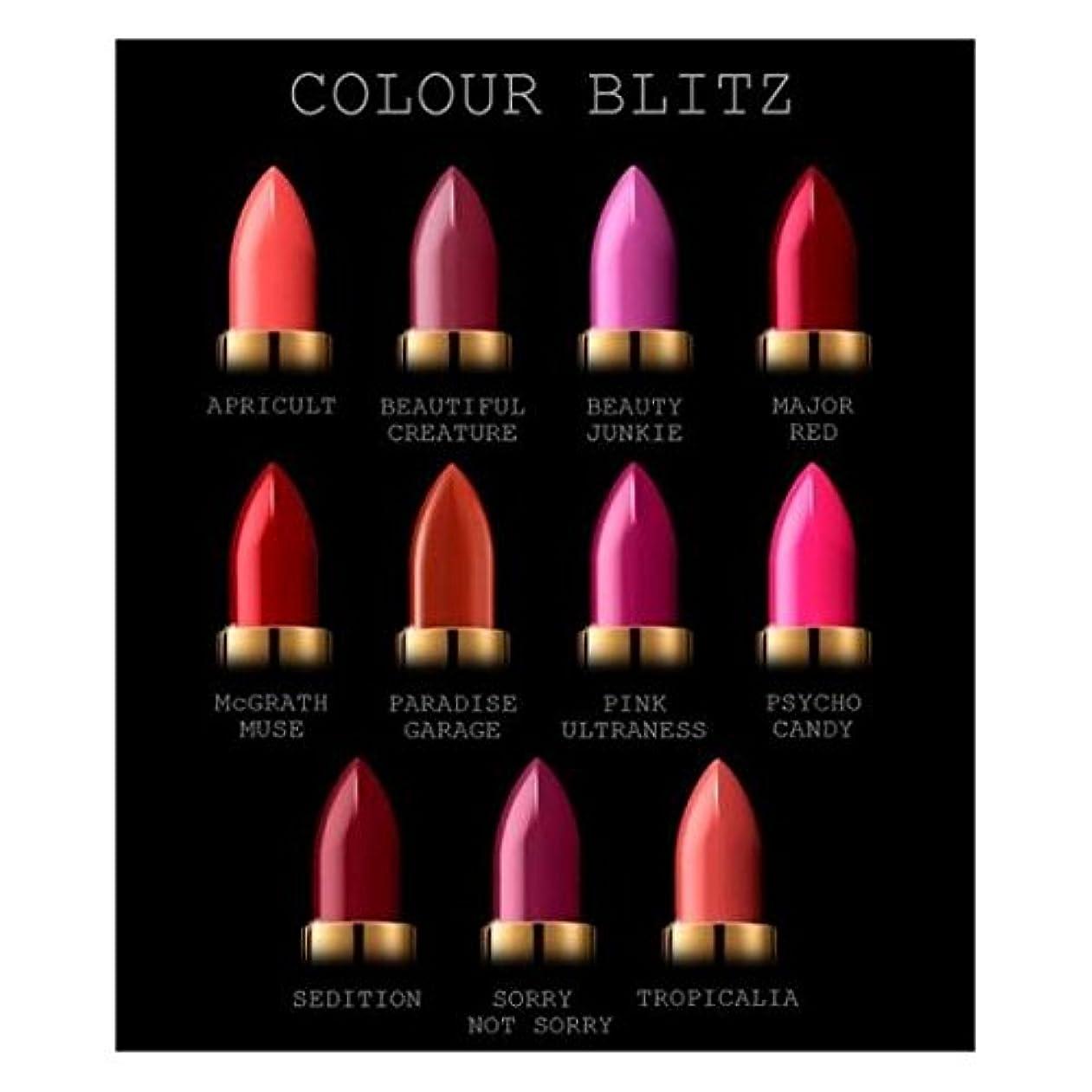 虚偽心臓動物PAT McGRATH COLOUR BLITZ (BRIGHTS)LUXETRANCE LIPSTICK パットマグラス 全11カラーの中からお選びください Beauty Junkie (Pink Violet)