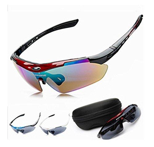 SaySure - Men Women Cycling Eyewear Sunglass Outdoor Cycling Glasses Bicycle Sports Sun Glasses original Box 0089 - GMN-BG-SPT-000380