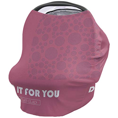 For Sale! Nursing Breastfeeding Cover Car Seat Canopy for Baby Geometric, Monogram Saying Do It for ...