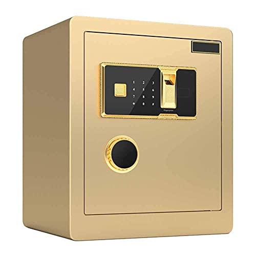 Caja fuerte de seguridad, caja fuerte de seguridad [combinación digital] Gran capacidad para almacenar objetos de valor Cajas fuertes para documentos de identidad, documentos A4, computadoras portátil
