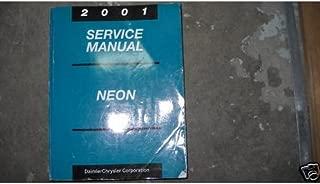 2001 Dodge Neon Service Repair Shop Manual Oem 01