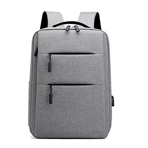 Business Computer Backpack Outdoor Travel Bag Shoulder Bag Man Bag,Gray,16-Inch