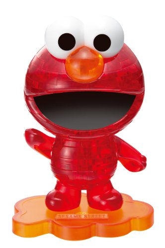 Crystal puzzle Elmo Red 40 piece (japan import)
