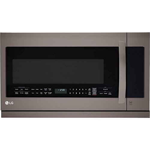 LG LMHM2237BD 2.2 cu. ft. Over-the-Range Microwave Oven with...