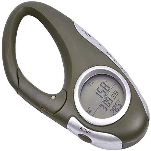 Altímetro Digital, 8 en 1, medidor de altitud electrónico de Mano, termómetro,...