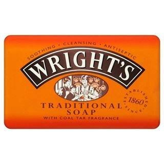 Wright's Traditional Coal Soap 125G by Accantia Health & Beauty Ltd.