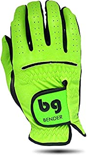 Bender Gloves Synthetic Cabretta Leather Golf Gloves Women, Worn on Right Hand