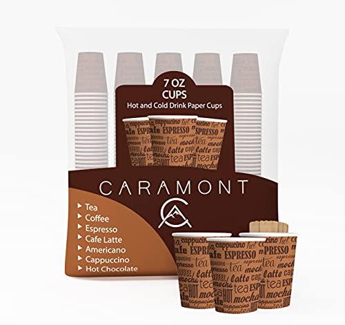 Vasos Cafe Con Tapa Desechables vasos cafe  Marca Caramont