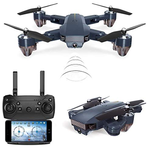 Jet Roy Foldable Toy Drone With 480P Wifi Camera Remote Control Kids Quadcopter With Gesture Selfie, Flips Bounce Mode, App One Key Headless Mode Functionality Hand Induction Sky Minion, Multicolor