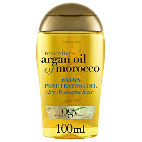 OGX Renewing Extra Penetrating Argan Oil of Morocco, 1er Pack (1 x 100 ml)
