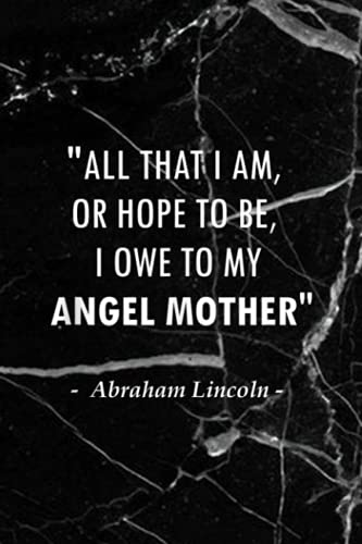 Outfit Planner Log Book: I Owe It All To My Angel Mother Quote Design