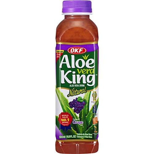OKF - Aloe Vera Getränk Trauben, 20er pack (20 X 500 ML)