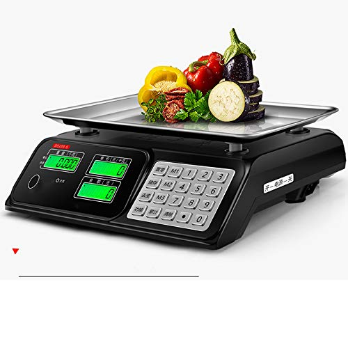 Balanza electrónica Comercial balanza pequeña 30 kg pesaje electrónico Dicho Mercado de Venta doméstica kg báscula de Alta precisión
