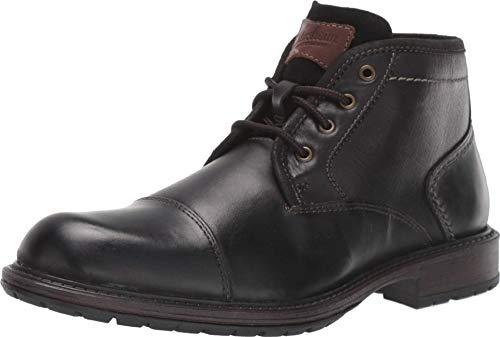 Florsheim Vandall Cap Toe Lace Up Boot, Botas Cortas Al Tobillo Para Hombre, Negro, 41 EU
