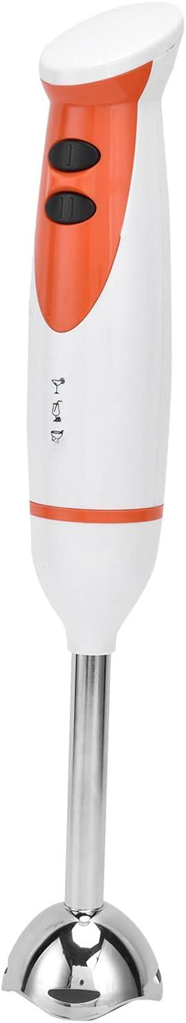 BOTEGRA Batidora Eléctrica De Alimentos, Diseño En Forma De S Batidora Eléctrica De Bajo Ruido Y Baja Vibración para Batidos De Frutas con, Batidos De Proteínas