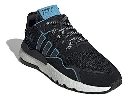 adidas Hombre Nite Jogger Zapatillas Negro