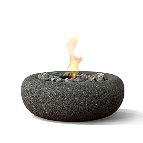 Terra Flame OD-TT-ZEN-GPH-03 Table Top Fire Bowl, Graphite