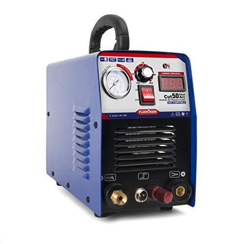 PLASMARGON Plasma Cutter CUT50P 50A Non-Touch Pilot Arc Plasma Cutting Machine Dual Voltage 110V/220V Portable Welding Equipment 1/2'' Clean Cut (110/220v)